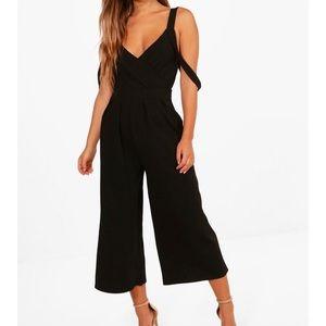 Boohoo Black Jumpsuit